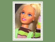 1997 Teen Barbie SKIPPER Extreme Green Blonde Hair Corduroy Jumpsuit