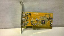 SIIG FireWire 3-Port PCI Adapter Card Three External IEEE 1394 Port NN-400012 V6