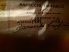 Italian Labeled Violin from estate Labeled BARRACHI LANFRANCO 1989 No.24