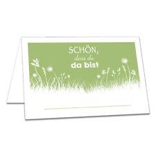 50er Tischkarten Set Namenskarten Platzkarten Hochzeit Geburtstag Taufe Feier