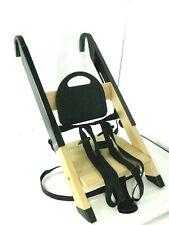 Stokke HandySitt Portable Child Baby HandySit Wooden High Booster Chair Black