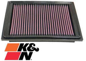 K&N REPLACEMENT AIR FILTER FOR CHEVROLET CORVETTE C6 LS2 6.0L V8