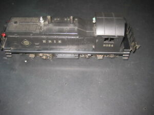 LIONEL NW-2 ERIE SWITCHER # 8354 TESTED