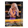 2019 TOPPS NOW NXT #19 CANDICE LERAE BECOMES #1 CONTENDER FOR NXT WOMEN'S TITLE