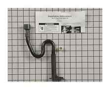 W10619951 GENUINE Whirlpool  Kenmore - Sears Original P-Trap Drain Tube Kit NEW