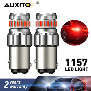 AUXITO BAY15D 1157 SMD Red LED Bulbs Turn Signal Tail Brake Reverse Light Lamp