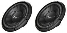 """NEW (2) 12"""" Pioneer SVC Subwoofer Bass.Replacement Speakers.4ohm.Car Pair.1300w"""