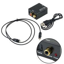 Optische 3,5 mm Koaxial Toslink Digital-Analog-Audio-Adapter-Konverter RCA L / R