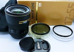 Nikon AF-S DX Zoom Nikkor 17-55mm F/2.8G IF ED Aspherical Lens