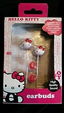 "HELLO KITTY EARBUDS  ""NEW"""