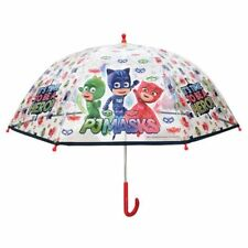 PJ MASKS DOME CLEAR Umbrella Kids Childrens Umbrella School Official Licensed
