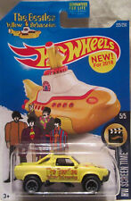 Hot Wheels a medida SUBARU BRAT THE BEATLES YELLOW SUBMARINE Real Riders