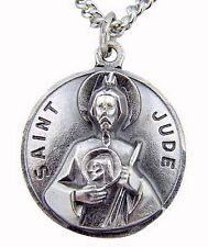 St. Jude Round Medal Pendant NEW in Gift Box from CREED SKU SO827-57