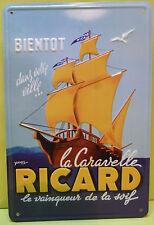 PETITE TOLE PUBLICITAIRE  RICARD  , OR374 *