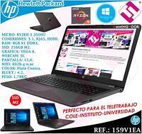 PORTATIL 15,6 HP RYZEN 5 3500U W10 SSD 256GB M2 8GB RADEON VEGA 8 TELETRABAJO