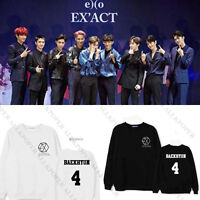KPOP EXO Planet #3 EXO'rDium Sweater Chanyeol Hoodie Unisex Sehun Sweatershirt