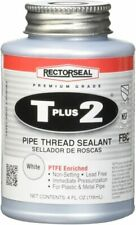 Rectorseal 1/4 Pint Brush Top T Plus 2 Pipe Thread Adhesives & Sealants ,White