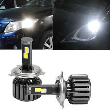 2Pcs H4 9003 HB2 120W 10000LM LED Car Headlight Kit Hi/Lo Beam Bulbs 6000K NEW