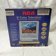 "RCA T09085 9"" TV/VCR VHS Recording Portable AC/DC Gaming Camping"