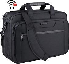 KROSER 18' Laptop Bag Expandable Laptop Briefcase Fits Up to 17.3 Inch Laptop