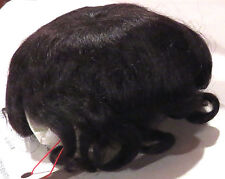 """12"""" Dk Brown Pure Mohair Wig """"Marissa"""" New for Reborn or Baby Dolls"""