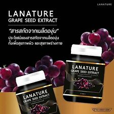 2X Lanature Grape Seed Extract Clear all skin problems Restore Youth 30 Capsule