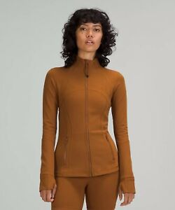 NWT auth lululemon define jacket in Copper Brown size 12. New Color!! Rtls $118
