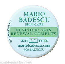 Mario Badescu GLYCOLIC SKIN RENEWAL COMPLEX 3g Travel Size Dry Skin Repair Balm