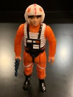 Vintage Luke Skywalker X-Wing Pilot Star Wars Action Figure 1978 Hong Kong