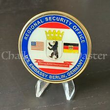 C86 Diplomatic Regional Security Office Service Berlin Germany Challenge Coin