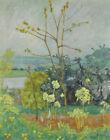 Pierre Bonnard Garden On The Banks Of The Seine Canvas Print 16 x 20  # 6330