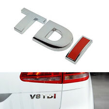 TDI Badge Sticker Decal ABS Emblems Fits For VW All Model Golf Polo Caddy Passat