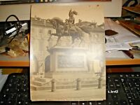 foto primi '900 originale TORINO MONUMENTO A EMAN. FILIBERTO - ED. ALINARI 14763