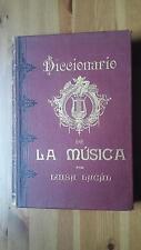 1900 Luisa Lacal, Diccionario de la Musica Tecnico Historico Bio-Bibliograficos