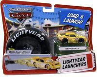 DISNEY CARS 1 2 3 DIECAST 1:55 - FIBER FUEL  LIGHTYEAR LAUNCHERS #56! UK!