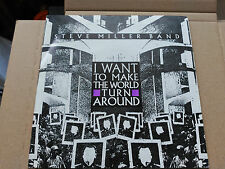 7'' PROMO STEVE MILLER BAND - I WANT TO MAKE THE WORLD TURN AROUND - SPAIN VG+