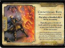 2 each D&D 4ed Fortune Card Packs & Promos-Countering Fate, Cunning Misdirection