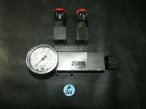 Druckminderer + 2 Ventile THL.3230710 Trumpf Tru Matic 6000 Laserschneider (Z311