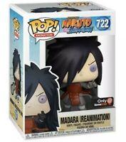 Funko Pop! Madara Reanimation Naruto Shippuden Gamestop Exclusive Pop 722