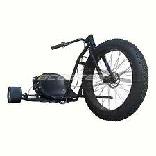 "50 Caliber scooter x Go Kart 6.5Hp Engine 3 Wheeler Kart 26"" rim drift trike"