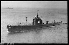 USS Triton SS-201 postcard US Navy WWII submarine
