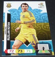 RUSLAN ROTAN UKRAINE YKPAÏHA UKRAJINA FOOTBALL CARD PANINI UEFA EURO 2012