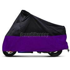 L Purple Motorcycle Cover For Honda CBR CB 600 F3 F4 1000 RR GSXR 600 750 1000