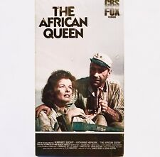 The African Queen Vhs - 1951 - Humphrey Bogart/Katharine Hepburn New Sealed