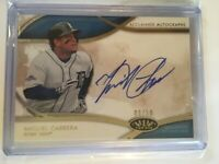 2014 Topps Tier One Baseball Acclaimed Autographs Miguel Cabrera /50 *Tigers*