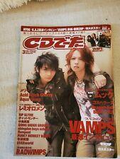 Vamps Hyde KAZ J Rock Magazine with Poster