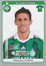 N°412 ALEJANDRO ALONSO # ARGENTINA AS.SAINT-ETIENNE STICKER PANINI FOOT 2012
