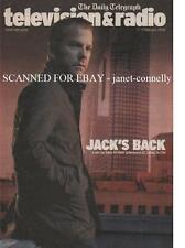 KIEFER SUTHERLAND JACK BAUER 24 ~ TELEVISION & RADIO MAGAZINE (11-17 Feb 2005)