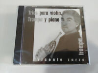 VICENTE ZARZO TROMPA TRIOS PARA VIOLIN TROMPA Y PIANO CD NEW SEALED NUEVO
