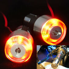 Motorcycle Handle Bar End 12V LED Turn Signal Light Lamp Amber For Ducati 620 ND